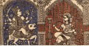 Sacred cloth of the Goddess - Chamunda Maa ( 15 X 18 )