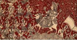 """Sacred cloth of the Goddess - Durga Maa ( 25"""" X 21"""" )"""