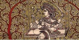 "Sacred cloth of the Goddess - Hadaksha Maa ( 15"" X 18"" )"