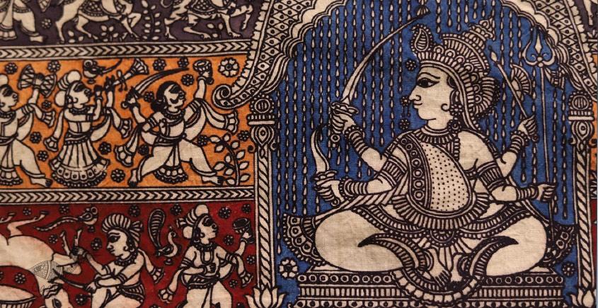Sacred cloth of the Goddess - Jogni Maa -A ( 15 X 18 )