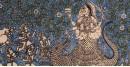 Sacred cloth of the Goddess - Khodiyar Maa ( 15 X 18 )