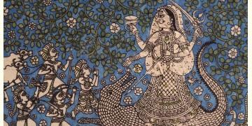 """Sacred cloth of the Goddess - Khodiyar Maa ( 15"""" X 18"""" )"""