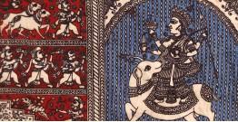 """Sacred cloth of the Goddess - Meldi Maa -A ( 15"""" X 18"""" )"""