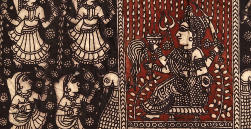 Sacred cloth of the Goddess - Nah Purti ( 15 X 18 )