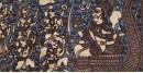 Sacred cloth of the Goddess - Vaahanvati Maa ( 15 X 18 )