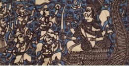"""Sacred cloth of the Goddess - Vaahanvati Maa ( 15"""" X 18"""" )"""