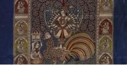 """Sacred cloth of the Goddess - Bahuchar Maa (26"""" x 36"""")"""