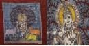 "shop online Sacred cloth of the Goddess - Krishna (18"" x 24"")"