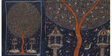 """Sacred cloth of the Goddess - Moon Tree (26"""" x 36"""")"""
