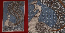 """Sacred cloth of the Goddess - Peacock (18"""" x 20"""")"""
