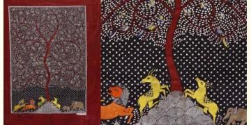 """Sacred cloth of the Goddess - Tree of Life (26"""" x 36"""")"""