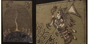 """Sacred cloth of the Goddess - Tree of Life (30"""" x 40"""")"""
