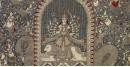 "shop online Sacred cloth of the Goddess - Vahaanvati Maa (26"" x 36"")"