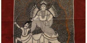 """Sacred cloth of the Goddess - Vishat Maa (22"""" x 22"""")"""