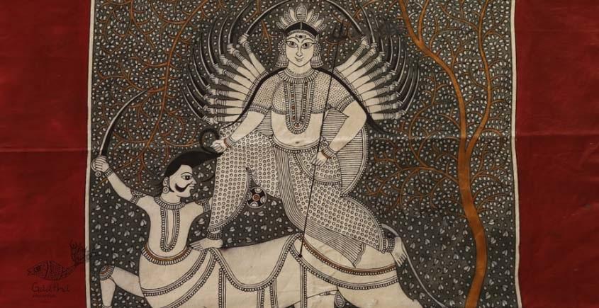 """shop online Sacred cloth of the Goddess - Vishat Maa (22"""" x 22"""")"""