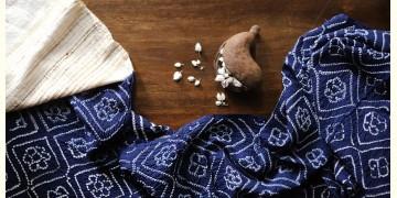 Ada . अदा | Hand loom Cotton . Tussar | Bandhni Stole - 4
