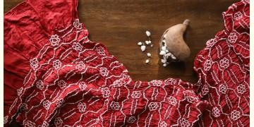 Ada . अदा | Bandhni Silk Stole - 16
