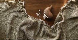 Ada . अदा | Bandhni Mulburry Silk Stole - 21