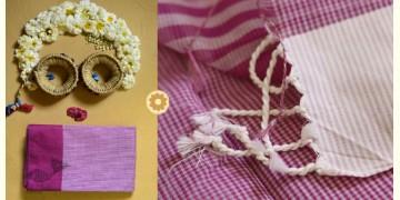 Iris ❢ Handloom  ❢ Cotton Checks Saree ❢ 12
