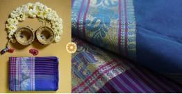 Iris ❢ Handloom  ❢ Cotton Checks Saree ❢ 16