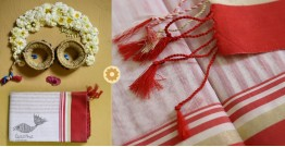 Iris ❢ Handloom  ❢ Cotton Checks Saree ❢ 18