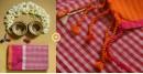 Iris ❢ Handloom  ❢ Cotton Checks Saree ❢ 14