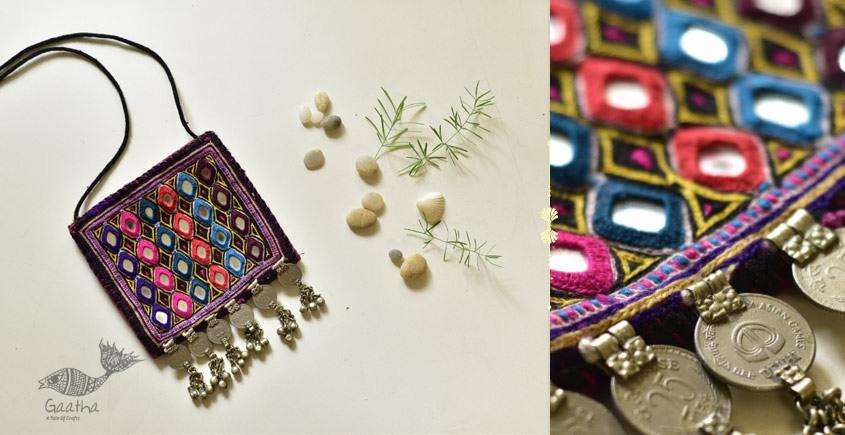 shop online Hand Embroidered Banjara Sling Bag 2