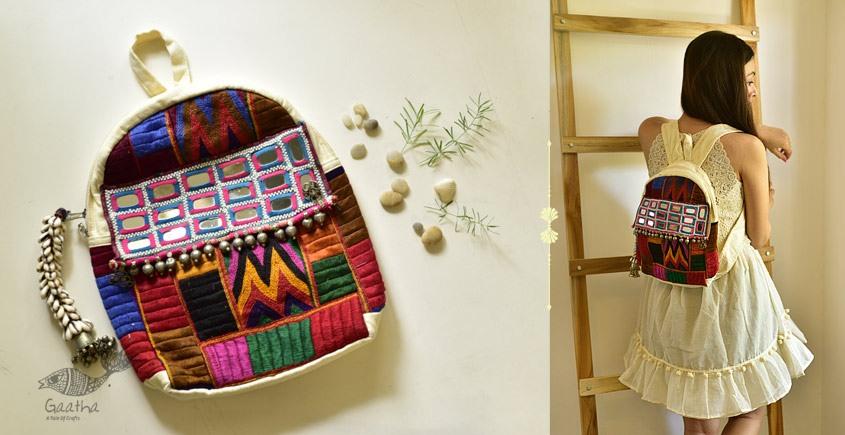 shop online Hand Embroidered Banjara Bag 6
