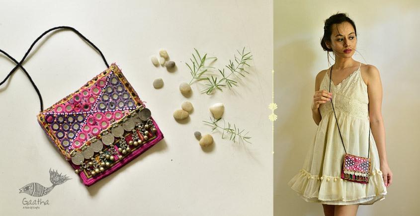 shop online Hand Embroidered Banjara Sling Bag
