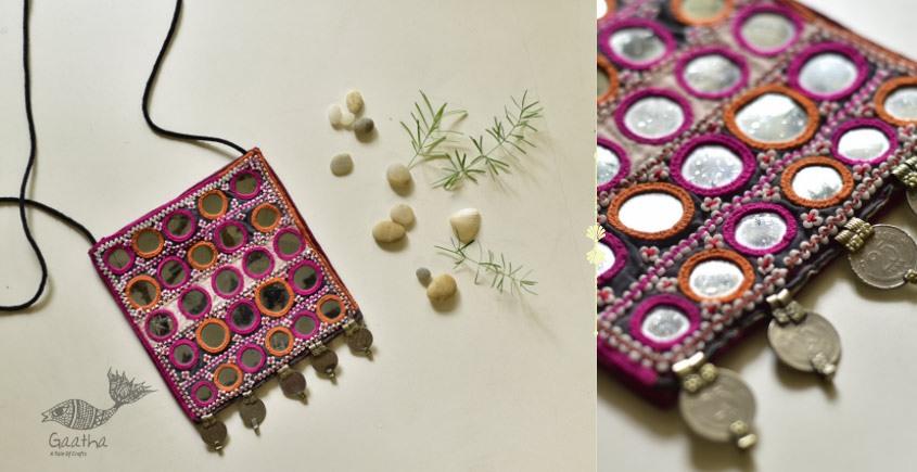 shop online Hand Embroidered Banjara Sling Bag 9