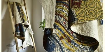 "Bird's Eye View ❣ Cotton - Applique & Embroidered Quilt ( 48"" x 78"" )  A"