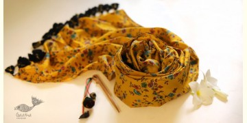 Soie ✻ Silk Stole With Wooden Hair Pin ✻ H