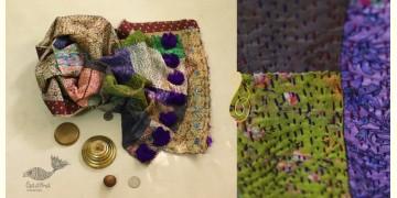 धनक ✥ Kantha Reversible Silk Stole ✥ 6
