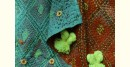 धनक ✥ Kantha Reversible Silk Dupatta ✥ 10