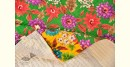Birds Eye View ❣ Cotton - Embroidered Quilt (46 x 72)| D