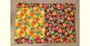 Birds Eye View ❣ Cotton - Embroidered Quilt (74 x 51) | H