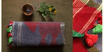 तुलसी ✽ Handloom Linen Saree ✽ 1