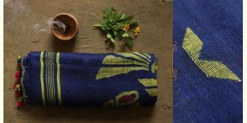 तुलसी ✽ Handloom Linen Saree ✽ 4
