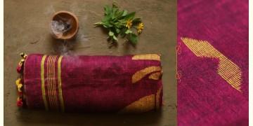 तुलसी ✽ Handloom Linen Saree ✽ 6