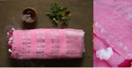 तुलसी ✽ Handloom Linen Saree ✽ 7