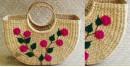 Handmade - handcrafted Morning Glory Hand Bag