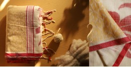 सूती ▦ Handloom Cotton Saree ~ 11