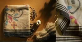 सूती ▦ Handloom Cotton Saree ~ 17