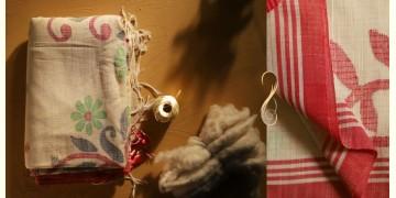 सूती ▦ Handloom Cotton Saree ~ 18