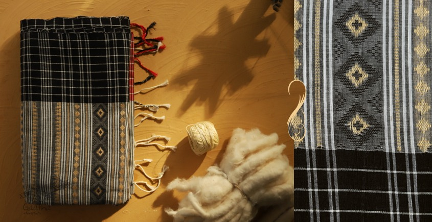 सूती ▦ Handloom Cotton Saree ~ 31