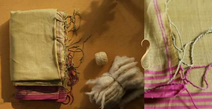 सूती ▦ Handloom Cotton Saree ~ 32
