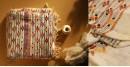 सूती ▦ Handloom Cotton Saree ~ Kantha work ~ 49