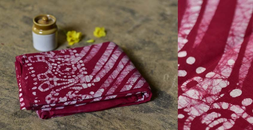 Vaamika ✲ Batik Cotton Saree ✲ A