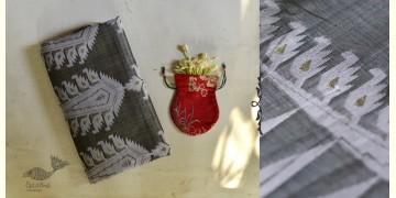 Indrani . इंद्राणी | Jacquard Hand loom ~ Tussar Jamdani Saree ~ 1