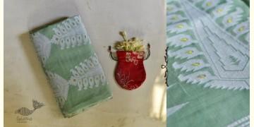 Indrani . इंद्राणी | Jacquard Hand loom ~ Tussar Jamdani Saree ~ 2